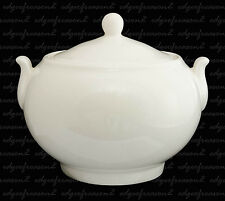 ROYAL DOULTON WHITE COVERED SUGAR BOX
