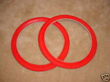 BICYCLE TIRES FOR RAT ROD SCHWINN OTHERS  20 X 1.95 RED