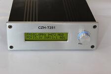 CZH-T251 25W FM transmitter stereo Professional broadcast adjustable 0-25W+Power
