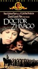 Doctor Zhivago Ormar Sharif 1963 Color VHS, 2-Tape Set