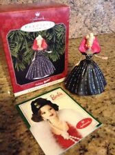 Nib Holiday Barbie Collector Ornament 1998 - Pristine!