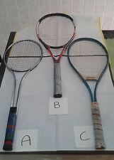 3 Racchette Tennis Usate Vintage Prezzo ribassato!