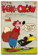 Fox and the Crow #58 1958- DC Funny Animal comic - F/VF