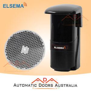 PE1500 Elsema Genuine Long Range Retro Reflective Photoelectric Beam x 1