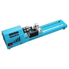 Mini Diy 150W Wood Lathe Bead Cutting Machine Drill Polishing Woodworking Mill