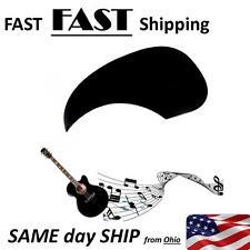 Pickguard Scratch Plate Pick Guard For Acoustic Guitar Black - US SHIP