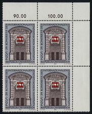 Austria 948 TR Block MNH Architecture, Intl. Statistical Institute