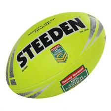 STEEDEN NRL Mighty Touch Trainer Ball Senior in Yellow