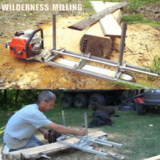 """2018 Portable Chain saw mill 24"""" Inch Planking Milling Bar Size 14"""" to 24"""""""