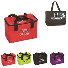 1 Lunch Bag Fraicheur Sac Isotherme Lunch Box 2,6L 24,5 X 17,5 X 28 cm 4 Couleur