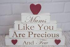 Mum Plaque Mums Like You Are Precious & Few Free Standing Sign Cream 22cm F1060