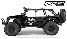 Axial SCX10 Rubicon or CRC Edition Body Graphic Wrap Skin- Dagger Skull