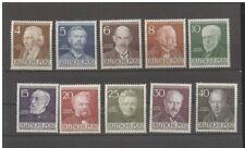 BERLINO 1952 Mi n  91 al  100 MNH  (mich. 130 euro)