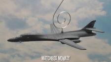 Gray B-1 Bomber SAC USAF Bone Lancer Christmas Ornament Airplane Aircraft Adorno