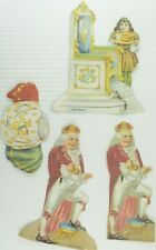 1890's Old King Cole Paper Doll Set Lion Coffee Victorian Trade Cards PD43