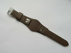 Fossil Original Spare Leather Strap CH2891 Watch Band Braun 0 7/8in Brown