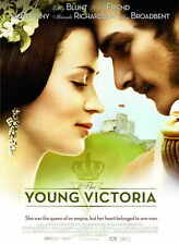 THE YOUNG VICTORIA Movie POSTER 27x40 B Emily Blunt Jim Broadbent Mark Strong