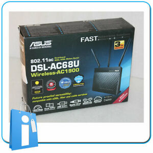Router ASUS ADSL VDSL Drahtlose DSL-AC68U AC1900 Wifi