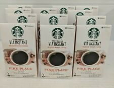 Starbucks VIA Instant Pike Place Coffee Med Roast-50 Loose Packets BB 11/20