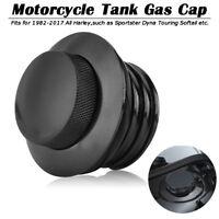 Pop Up Tankdeckel Cap Billet Aluminum Für Harley Sportster Dyna Touring Softail