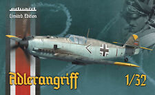 "EDUARD 1/32 - Bf 109E-1/3/4 ""ADLERANGRIFF"" (Limited Edition, No.11107)"