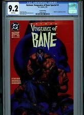 Batman Vengeance of Bane #1 CGC 9.2  2nd Print 1993 1st Bane DC Comics K6
