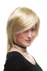 Séduisant Perruque pour Femme Rock Chick Longue Jusqu'aux Épaules Blond