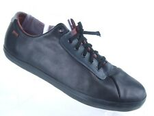 CAMPER MOTEL 22068-001 BLACK LEATHER CASUAL LACE UP SNEAKER SHOES WOMEN SZ 11 41