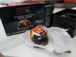 THE ADVENTUROUS WORLD OF RED BULL - Max Verstappen - Helmet - Keychain 1/8 A9