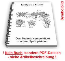Sprühpistole selbst bauen - Airbrush Sprühdüse Technik Patente Patentschriften