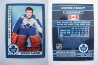 2015 SCA Bernie Parent Toronto Maple Leafs goalie never issued produced #d/10