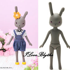 Petworks Usagii bunny rabbit figure Usaggie Nude 004 GRAY