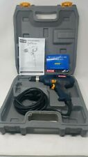 """Ryobi D4 3/8"""" Variable Speed Reversing Keyless Chuck Levels With Case Excellent"""