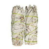 White Sage Smudge Sticks 4 - 5 in 2 Pack Sage Bundles for Cleansing Sage Incense