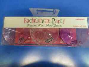 Bachelorette Party Girls Night Out Ladies Party Favor Mini Martini Shot Glasses