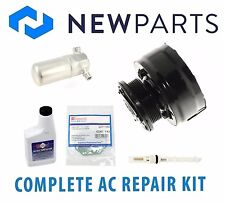 Chevrolet Corvette V8 5.7L 1984 Complete A/C Repair Kit New Compressor & Clutch