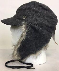 Outdoor Research Women's Ear Flap Serra Hat Cap - Charcoal Gray Sz S/M NWT