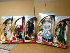 Disney Oz The Great And Powerful Oscar Diggs Theodora Evanora Glinda China Doll