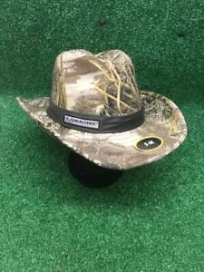 Camouflage Cowboy Outback Hat / Cap Realtree Hunting New w/Tags Small/Med size