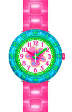 Flik Flak Child's Watch Chewy Pink fcsp028 Analogue Plastic Pink