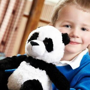 "Warmies Plush 13"" Panda Fully Microwaveable Soft Cuddly Heatable Toy Bear"