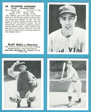1939 Play Ball Reprint Set