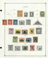 Liberia Loaded 1800's to 1990 Clean Mint & Used Stamp Collection