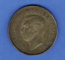 1942 GREAT BRITAIN 2 SHILLINGS  SILVER COIN ......SA 486