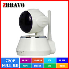 IP CAMERA DA INTERNI CASA WIRELESS WIFI 720p CAMERA INTELLIGENTE