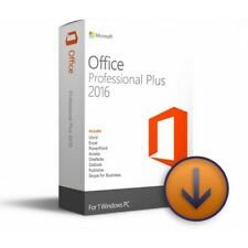 Office 2016 Professional Plus 32/64bit Product Code Licence Key