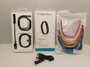 Fitbit Flex 2 Fitness Wristband Health Activity Tracker FB403BK Black waterproof