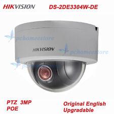 Hikvision DS-2DE3304W-DE 3MP 4x Optical Zoom 2.8~12mm Network Mini PTZ Camera