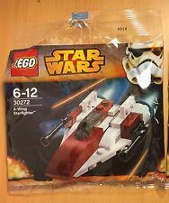 Lego New Star Wars 30272 A-Wing Starfighter X1 Poly Bag Mini Set