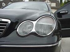 01-07 Mercedes W203 C-class CHROME headlight ring rim (style 2)